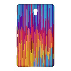 Vertical Behance Line Polka Dot Blue Red Orange Samsung Galaxy Tab S (8 4 ) Hardshell Case  by Mariart