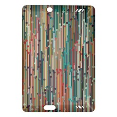 Vertical Behance Line Polka Dot Grey Blue Brown Amazon Kindle Fire Hd (2013) Hardshell Case by Mariart