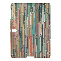Vertical Behance Line Polka Dot Grey Blue Brown Samsung Galaxy Tab S (10 5 ) Hardshell Case  by Mariart