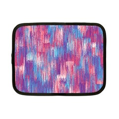 Vertical Behance Line Polka Dot Blue Green Purple Red Blue Small Netbook Case (small)  by Mariart