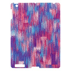 Vertical Behance Line Polka Dot Blue Green Purple Red Blue Small Apple Ipad 3/4 Hardshell Case by Mariart