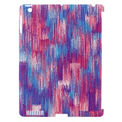 Vertical Behance Line Polka Dot Blue Green Purple Red Blue Small Apple Ipad 3/4 Hardshell Case (compatible With Smart Cover) by Mariart