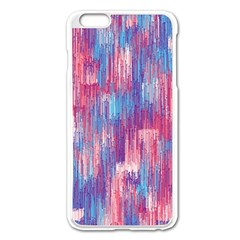 Vertical Behance Line Polka Dot Blue Green Purple Red Blue Small Apple Iphone 6 Plus/6s Plus Enamel White Case by Mariart