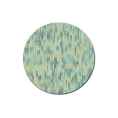 Vertical Behance Line Polka Dot Grey Magnet 3  (round) by Mariart