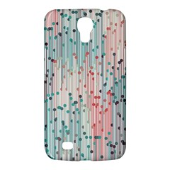 Vertical Behance Line Polka Dot Grey Pink Samsung Galaxy Mega 6 3  I9200 Hardshell Case by Mariart