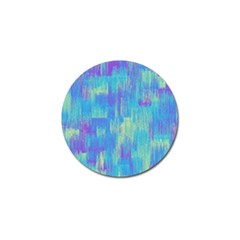 Vertical Behance Line Polka Dot Purple Green Blue Golf Ball Marker by Mariart