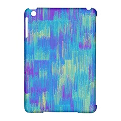 Vertical Behance Line Polka Dot Purple Green Blue Apple Ipad Mini Hardshell Case (compatible With Smart Cover) by Mariart