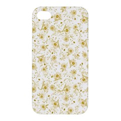 Floral Pattern Apple Iphone 4/4s Hardshell Case by ValentinaDesign