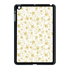Floral pattern Apple iPad Mini Case (Black) by ValentinaDesign