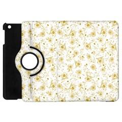 Floral Pattern Apple Ipad Mini Flip 360 Case by ValentinaDesign