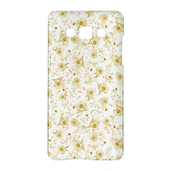 Floral Pattern Samsung Galaxy A5 Hardshell Case  by ValentinaDesign