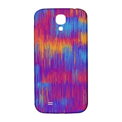 Vertical Behance Line Polka Dot Red Blue Orange Samsung Galaxy S4 I9500/i9505  Hardshell Back Case by Mariart