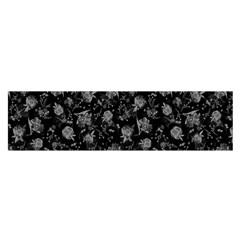 Floral Pattern Satin Scarf (oblong) by ValentinaDesign