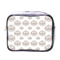 Dot Lotus Flower Flower Floral Mini Toiletries Bags by Mariart