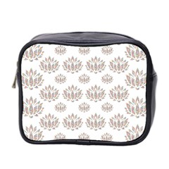 Dot Lotus Flower Flower Floral Mini Toiletries Bag 2 Side by Mariart