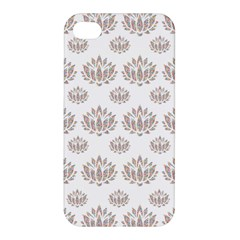 Dot Lotus Flower Flower Floral Apple Iphone 4/4s Hardshell Case by Mariart