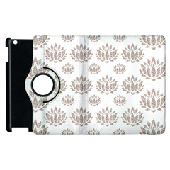 Dot Lotus Flower Flower Floral Apple Ipad 2 Flip 360 Case by Mariart