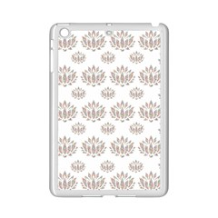 Dot Lotus Flower Flower Floral Ipad Mini 2 Enamel Coated Cases by Mariart