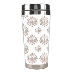 Dot Lotus Flower Flower Floral Stainless Steel Travel Tumblers by Mariart