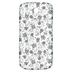 Floral Pattern Samsung Galaxy S3 S Iii Classic Hardshell Back Case by ValentinaDesign