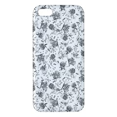 Floral Pattern Apple Iphone 5 Premium Hardshell Case by ValentinaDesign