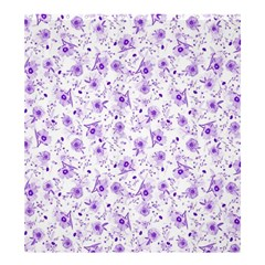 Floral Pattern Shower Curtain 66  X 72  (large)  by ValentinaDesign