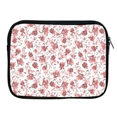 Floral Pattern Apple Ipad 2/3/4 Zipper Cases by ValentinaDesign