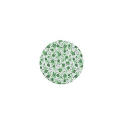 Floral Pattern 1  Mini Buttons by ValentinaDesign