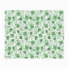 Floral Pattern Small Glasses Cloth by ValentinaDesign