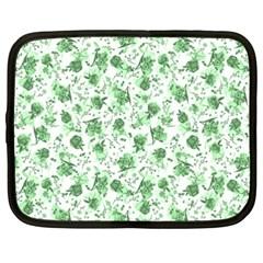 Floral Pattern Netbook Case (xxl)  by ValentinaDesign