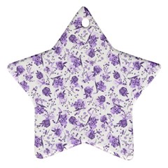 Floral Pattern Ornament (star) by ValentinaDesign