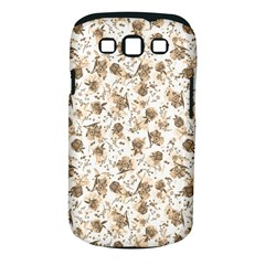 Floral Pattern Samsung Galaxy S Iii Classic Hardshell Case (pc+silicone) by ValentinaDesign