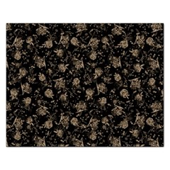 Floral Pattern Rectangular Jigsaw Puzzl by ValentinaDesign