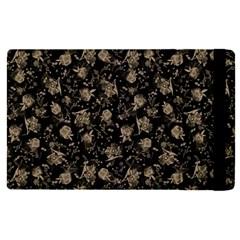 Floral Pattern Apple Ipad Pro 9 7   Flip Case by ValentinaDesign