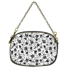 Floral Pattern Chain Purses (one Side)  by ValentinaDesign