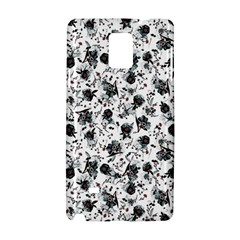 Floral Pattern Samsung Galaxy Note 4 Hardshell Case by ValentinaDesign