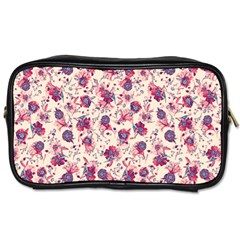Floral Pattern Toiletries Bags by ValentinaDesign