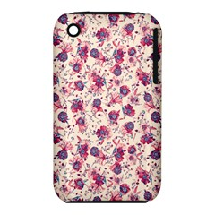 Floral Pattern Iphone 3s/3gs by ValentinaDesign