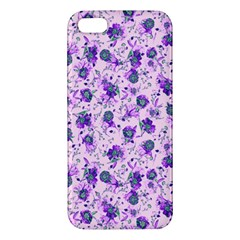 Floral Pattern Iphone 5s/ Se Premium Hardshell Case by ValentinaDesign