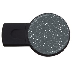 Dots Pattern Usb Flash Drive Round (4 Gb) by ValentinaDesign