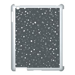 Dots Pattern Apple Ipad 3/4 Case (white) by ValentinaDesign