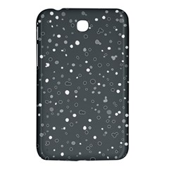 Dots Pattern Samsung Galaxy Tab 3 (7 ) P3200 Hardshell Case  by ValentinaDesign