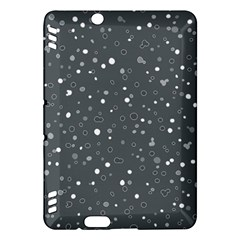 Dots Pattern Kindle Fire Hdx Hardshell Case by ValentinaDesign