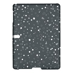 Dots Pattern Samsung Galaxy Tab S (10 5 ) Hardshell Case  by ValentinaDesign