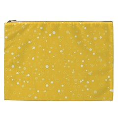 Dots Pattern Cosmetic Bag (xxl)  by ValentinaDesign