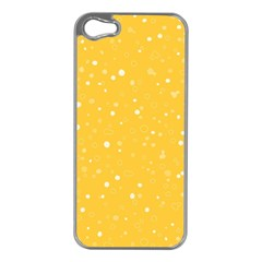 Dots Pattern Apple Iphone 5 Case (silver) by ValentinaDesign