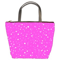 Dots Pattern Bucket Bags by ValentinaDesign