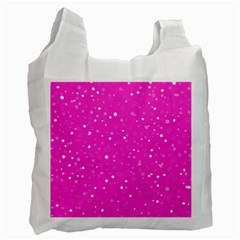 Dots Pattern Recycle Bag (one Side) by ValentinaDesign