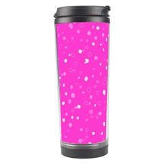 Dots Pattern Travel Tumbler by ValentinaDesign