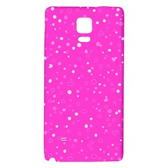 Dots Pattern Galaxy Note 4 Back Case by ValentinaDesign